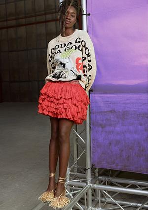 Фото №6 - Идеальные блейзеры и необычные джемперы: как выглядит новая коллекция H&M Studio SS21