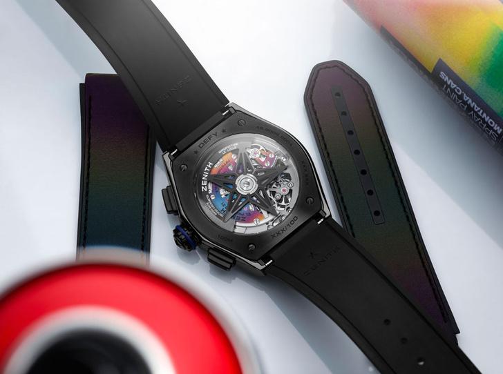 Фото №1 - Красочная новинка: Zenith выпустил яркие часы вместе с Фелипе Пантоне