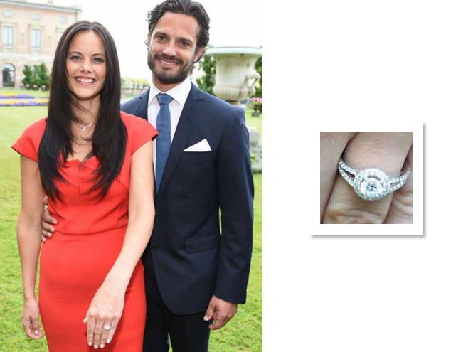 Фото №9 - Скажи «да!»: помолвочные кольца европейских принцесс и королев