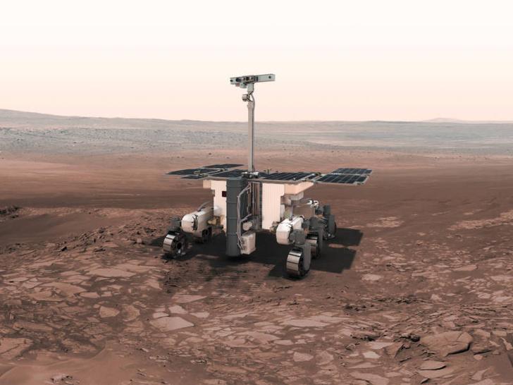 Фото №1 - Марсоходу для российско-европейской миссии придумали имя