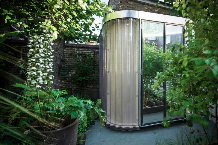 Фото №2 - Модульный офис в саду