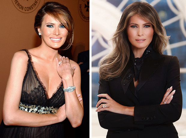 Фото №1 - Из моделей в первые леди: как Мелания Трамп изменилась за 3 года в Белом доме