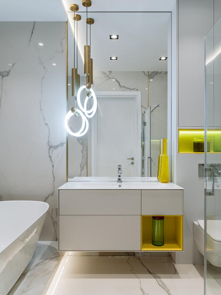 Фото №14 - Сила контраста: строгая мужская квартира 112 м²