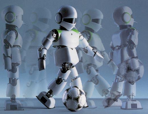 Фото №1 - В футбол играют настоящие машины