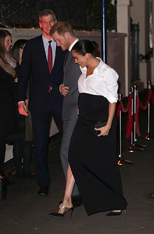 Фото №6 - Герцогиня Меган не изменяет традициям (почти): Сассекские на премии Endeavour