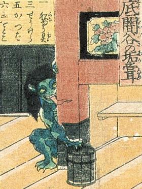 Фото №2 - Домовые в бане и лисы-оборотни: что общего у японских призраков и леших из русских сказок