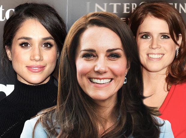 Фото №1 - Идеальное королевское лицо: Меган, Кейт или Евгения?
