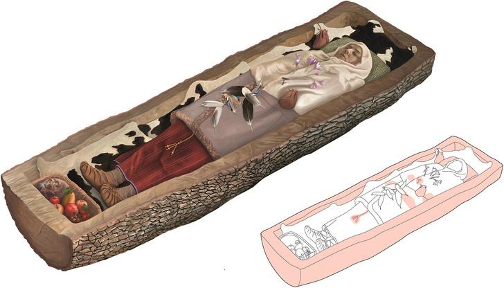 Фото №1 - Ученые рассказали о характере умершей 2200 лет назад женщины