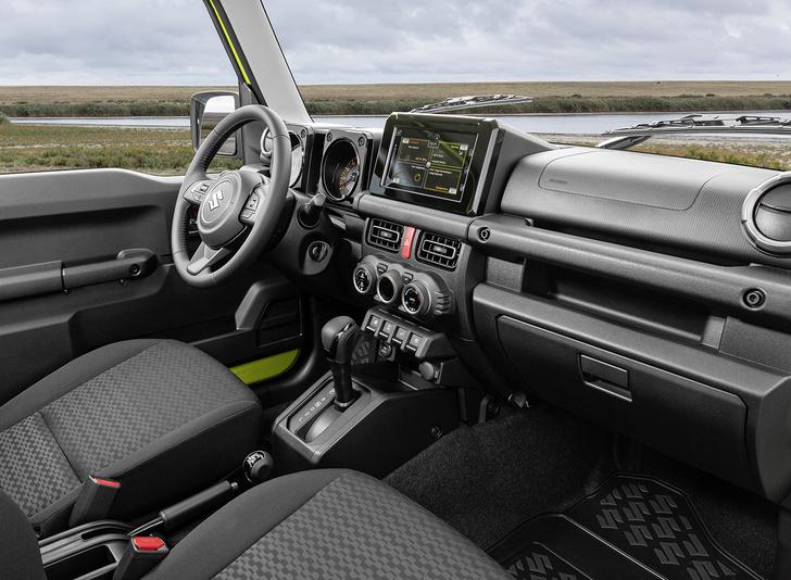 Фото №3 - Suzuki Jimny: зверский характер