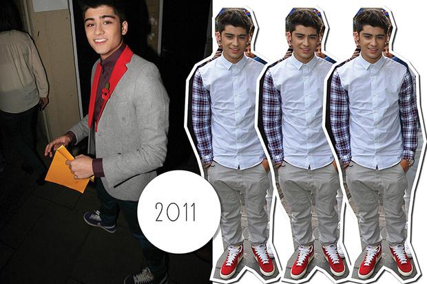 Эволюция стиля Зейна Малика: 2011 год