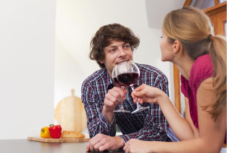 Фото №1 - Красное лицо после употребления алкоголя свидетельствует о серьезной болезни