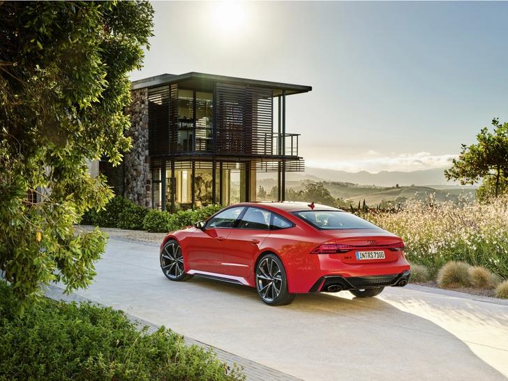 Фото №5 - Новый Audi RS 7 Sportback: инновационный дизайн и высокая эффективность