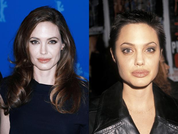 Анджелина Джоли с короткой стрижкой