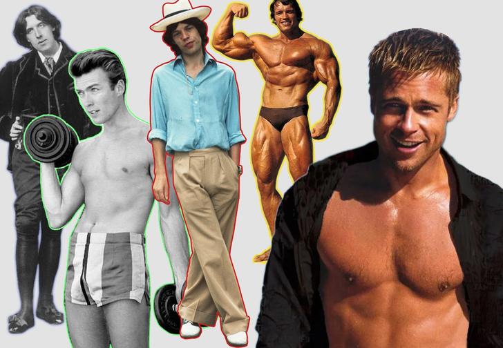 Фото №1 - Как менялся идеал мужского тела на протяжении последних 150 лет (5 этапов в картинках)