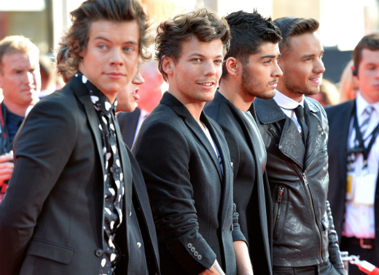 Фото №1 - Один день с One Direction: прямое включение из Лондона