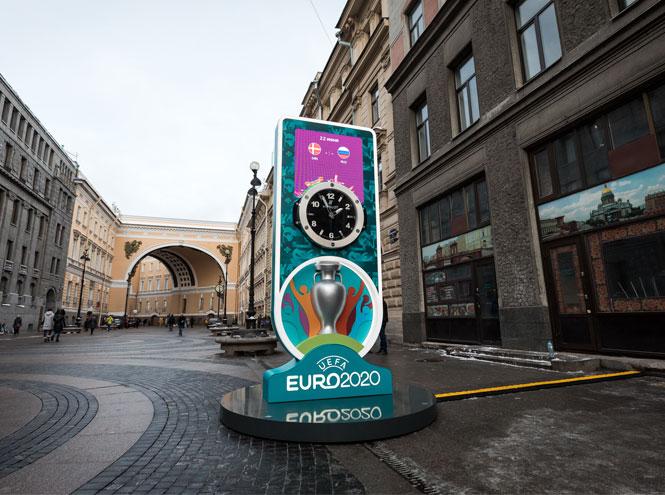 Фото №2 - Дни, часы, минуты: бренд Hublot начал отсчет до Евро-2020