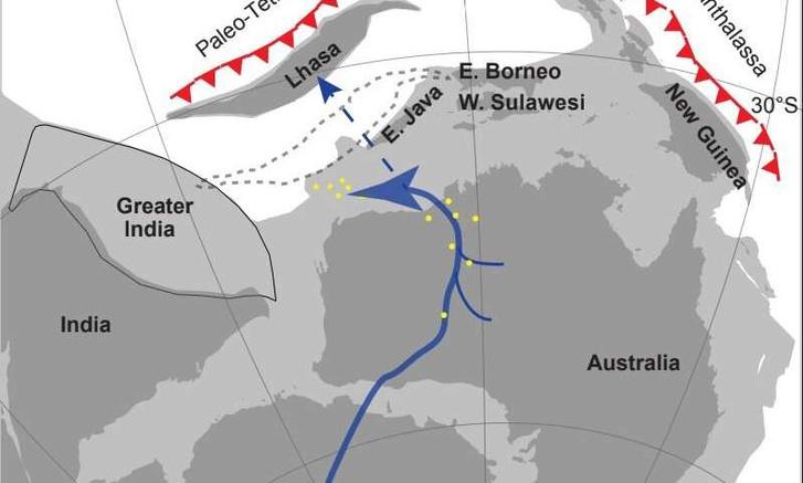 Фото №1 - Геологи нашли следы гигантской реки, протекавшей в Антарктике
