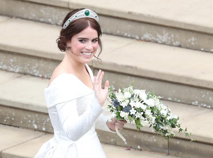 Фото №1 - Настоящая принцесса: свадебный образ Евгении Йоркской