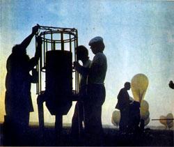 Фото №3 - Аэронавты работают на земле