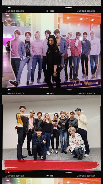 Фото №2 - Как девочки из Elle Girl встретились с мальчиками из NCT 127 – и влюбились во всех сразу