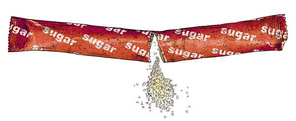 Фото №1 - Пакетик сахара