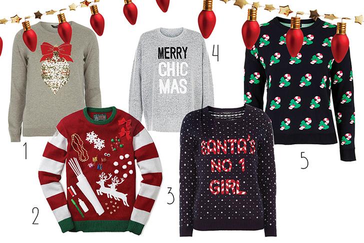 Фото №2 - Топ-10: Рождественские пуловеры