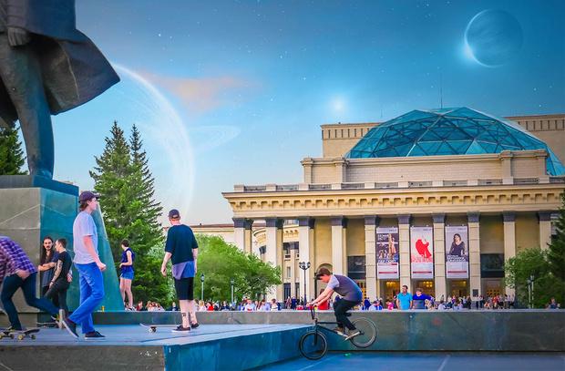 Фото №2 - «Город-сказка, город-мечта»: безумные проекты развития Новосибирска