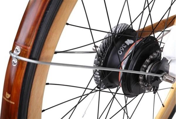 В Сингапуре появился велосипед из бамбука