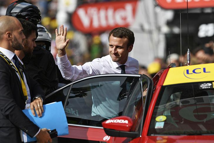 Фото №9 - Среди «горных королей»: репортаж с велогонки «Тур де Франс»