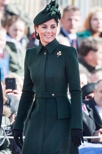 Фото №7 - Герцогиня Кембриджская на параде в честь Дня святого Патрика