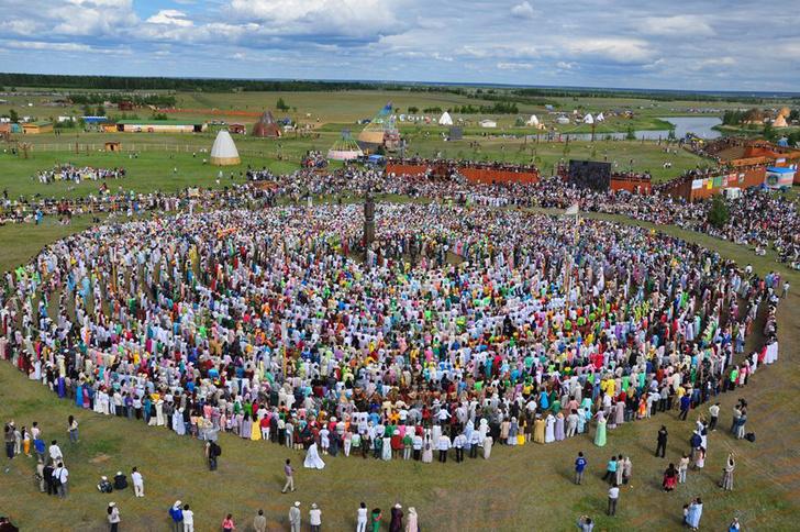 Фото №1 - Как называют главный якутский праздник?