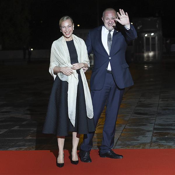 Фото №22 - Боги политического Олимпа: президенты и их жены на званом ужине в Париже