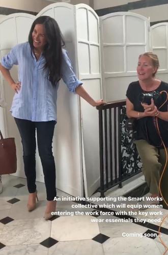Фото №4 - Герцогиня Меган показала, как работает над модной коллекцией