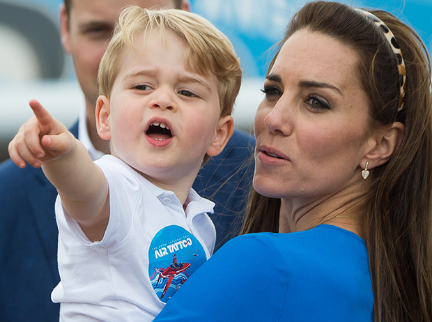Фото №2 - Кризис трех лет по-королевски: принц Джордж показал характер