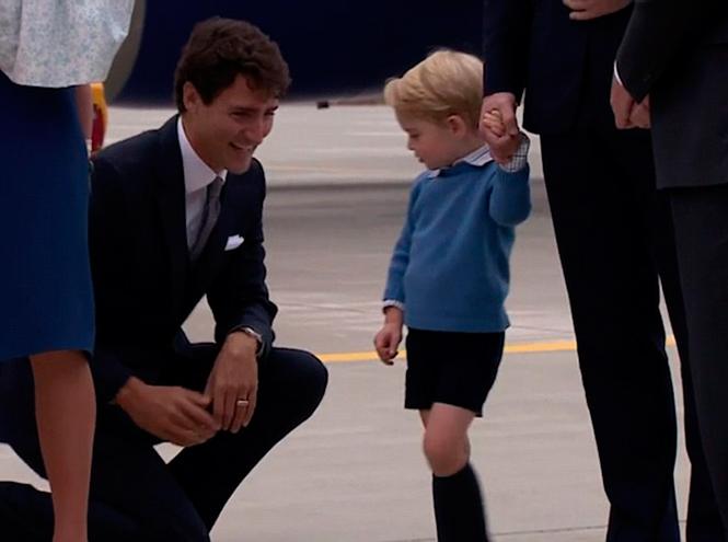 Фото №4 - Принц Джордж проигнорировал канадского Премьера