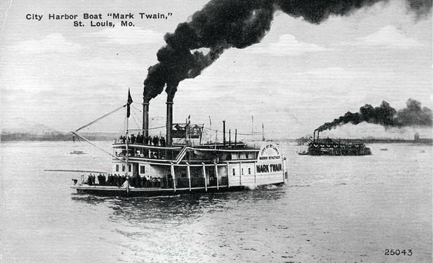 Пароход «Марк Твен», 1915г.