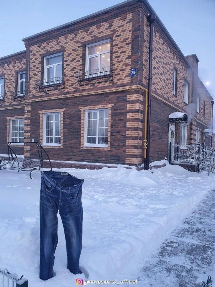 Фото №3 - В Сибири запустили «дубак-челлендж»: как ведут себя «Доширак», одежда и кипяток при температуреминус 50