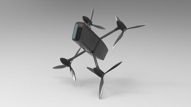 Фото №1 - Американская компания создала дрон для атаки на другие дроны