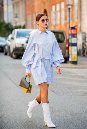 Фото №7 - И в будни, и на выходных: с чем носить платья-рубашки