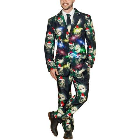 Фото №2 - Пришло время блистать: в продаже появился рождественский костюм с подсветкой