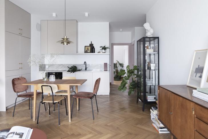 Фото №1 - Светлая квартира 65 м² инженера в Варшаве
