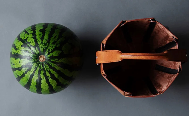 Фото №3 - Сумка-переноска для арбузов Tsuchiya Kaban