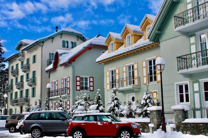 Фото №3 - Отель Grand Hôtel du Soleil d'Or: жемчужина Межева