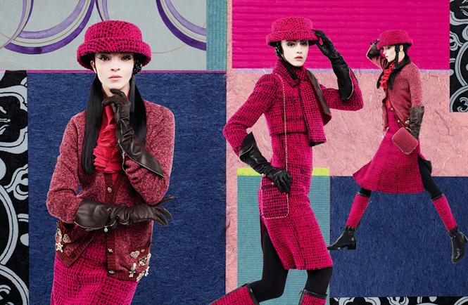 Фото №3 - Коллажи Карла Лагерфельда: креативная кампания Chanel FW 16/17