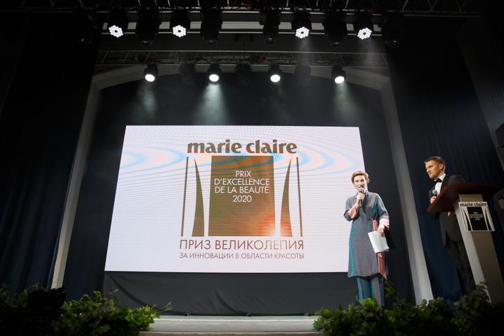 Ведущие премии Анастасия Харитонова и Михаил Кремер