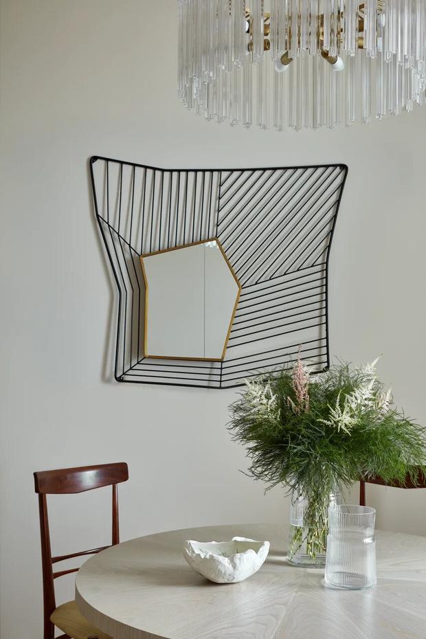 Фото №1 - Элегантный монохромный интерьер квартиры 85 м²