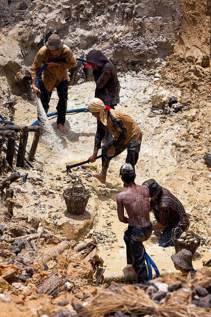 Фото №6 - Остров сокровищ: как на Борнео меняют алмазы на еду