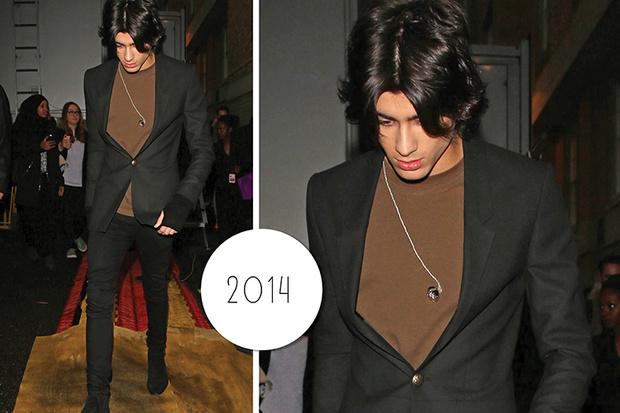 Эволюция стиля Зейна Малика: 2014 год