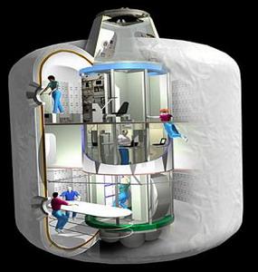 Фото №1 - В космос запустили прототип надувного отеля