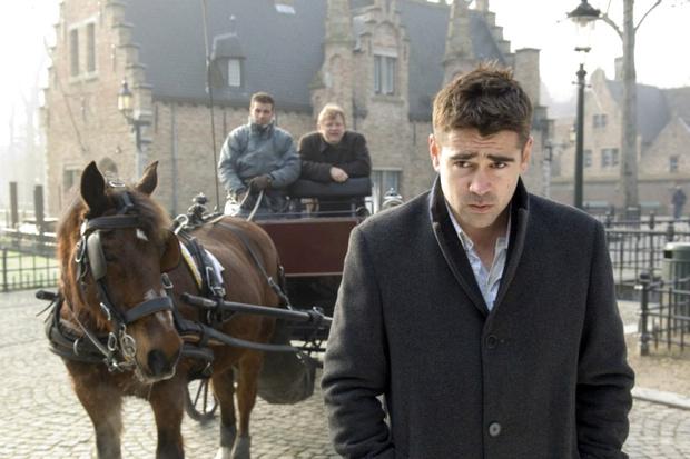 Кадр из фильма «Залечь на дно в Брюгге»